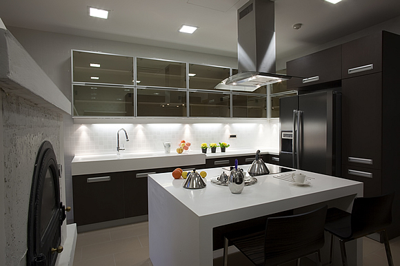 F interiors gallery mpumalanga residential interior for Kitchen design services