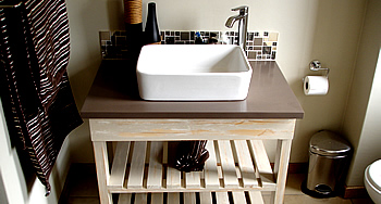 Bathroom Sink design and building, modern bathroom design services in nelspruit, Mpumalanga (F-Interios - Mpumalanga)